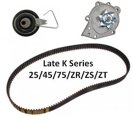 K Series Timing Belt (Cambelt) Kit Inc Water Pump - 99-06. (Auto Tensioner)