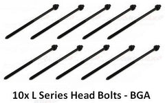 Rover L Series Head Bolts x10 - LDG100040 (200/400/600/25/45/ZR/ZS)
