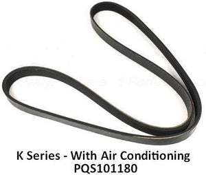 Rover K Series Auxiliary Belt (AC) 200 / 400 / 75 / ZT / F / TF (AC) - PQS101180 - OEM-Q / Dayco