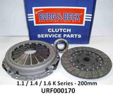 Rover 200/400/25/45/ZR/ZS (1.1, 1.4 & 1.6) Clutch Kit - K Series 200mm (URF000170 / URF000171 / URF000150)