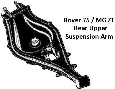 Genuine MG Rear Upper Arm (Rover 75/ MG ZT) LH - RGG104972XP