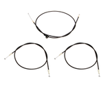 Rover 75 / MG ZT Bonnet Release Cables - Full Set - FSE000130 / FSE000140 / FSE000150