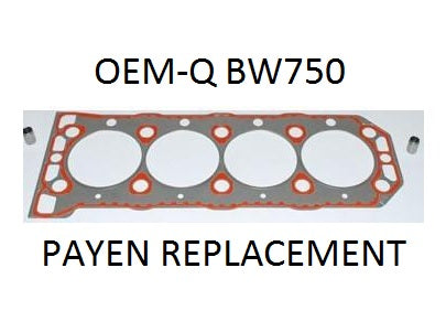 K Series Head OEM-Q Gasket (Elastomer) - BW750 / LVB000320