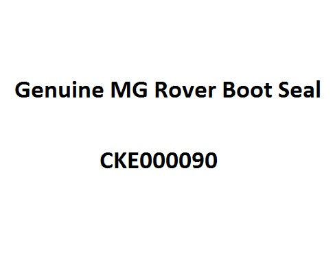 Rover 75 / MG ZT Saloon Boot Seal CKE000090 - Genuine MG Rover