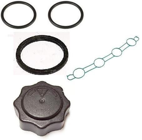 Coolant Leak Repair Kit - Coolant Cap, Inlet Gasket and Thermostat Seals (K Series, 25/45/ZR/ZS)