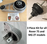 Rover 75 / MG ZT 3 Piece Engine Mount Set *Special Offer*