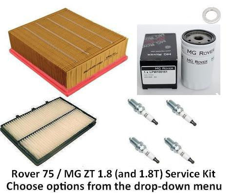 Rover 75 / MG ZT Service Kit - 1 8 / 1 8T | Discount MG