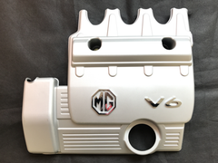 75 / ZT KV6 Engine Cover - Silver - MG7