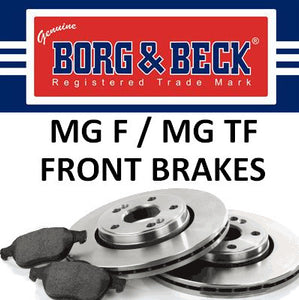 MG F / TF Front Brakes - Except 160 VVC
