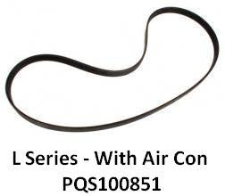 Rover L Series Auxiliary Belt (With AC) - PQS100851 - OEM-Q / Dayco