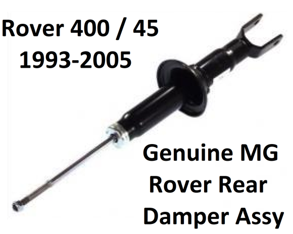 Rover 400 / 45 Rear Damper - RPD102670 / RPD102930 - Genuine MG Rover