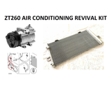 MG ZT260 / Rover 75 V8 A/C Revival Bundle Kit - Compressor JPB000320, Condenser JRB000140 and O Rings