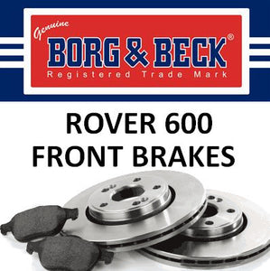 Rover 600 Front Brakes - All Models