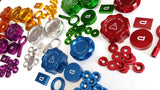 Aluminium Washer Bottle Cap - Rover 25 / 45 / MG ZR / ZS - Various Colours