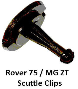 Rover 75 / MG ZT Scuttle Clips - EYC101470PMA - Genuine MG Rover