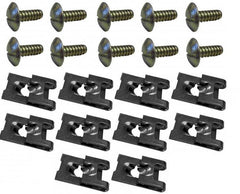 Rover 75 / MG ZT Ultimate Undertray Fixing Kit (Bolts and Clips) KZM000040 & KZM000050