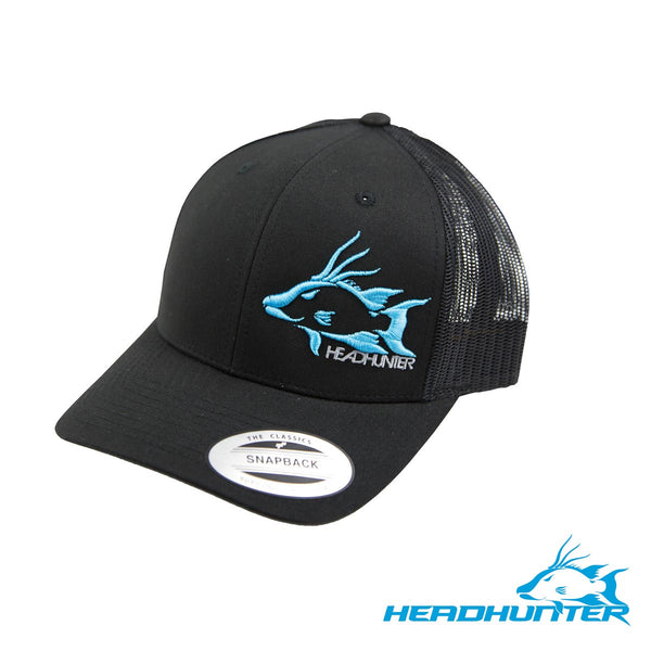 Headhunter Snapback Hat- Black