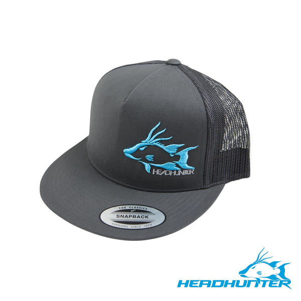 Headhunter Snapback Hat- Gray