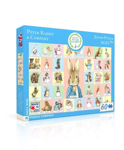 New York Puzzle Company - Peter Rabbit and Co. Puzzle
