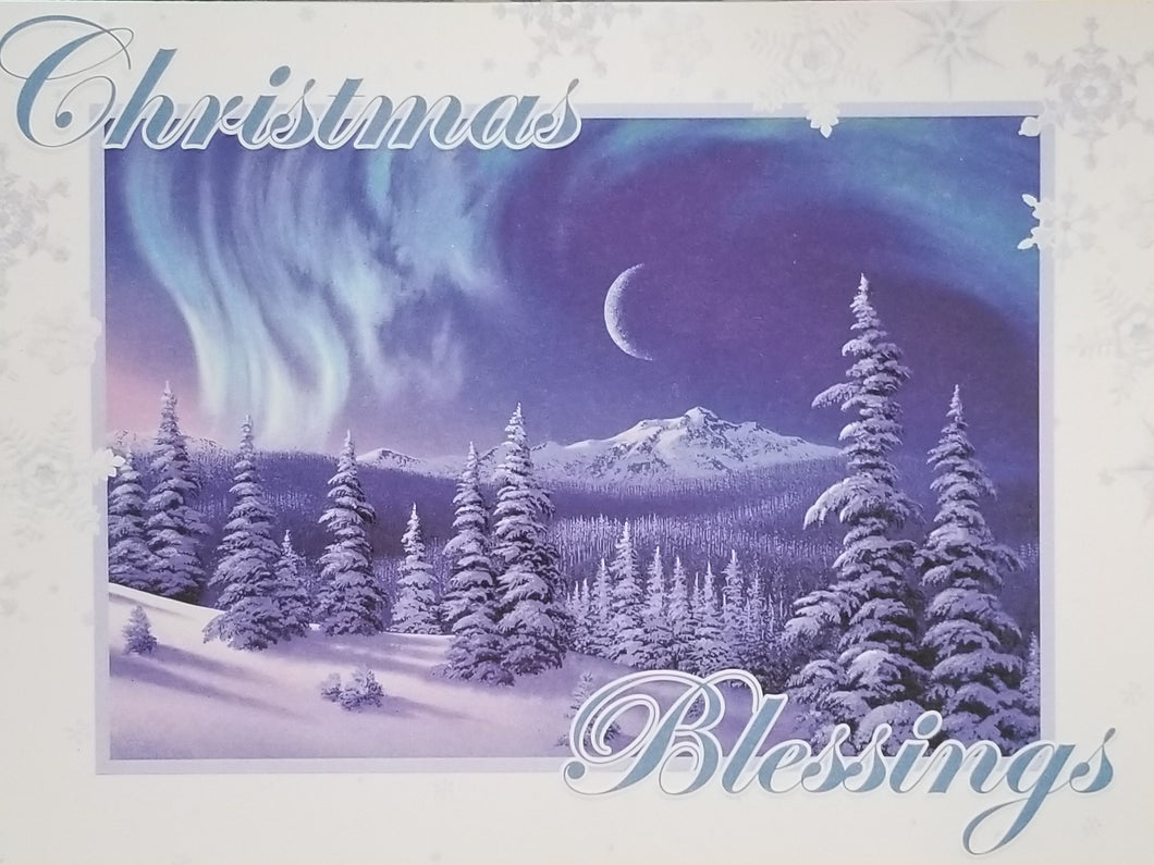 Christmas Blessings Embossed Christmas Cards-81147