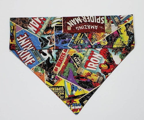 The Snazzy Pooch - Avengers Bandanna Small