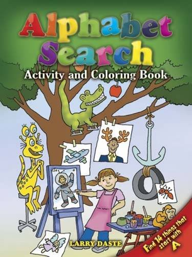 Alphabet Search Activity and Coloring Book