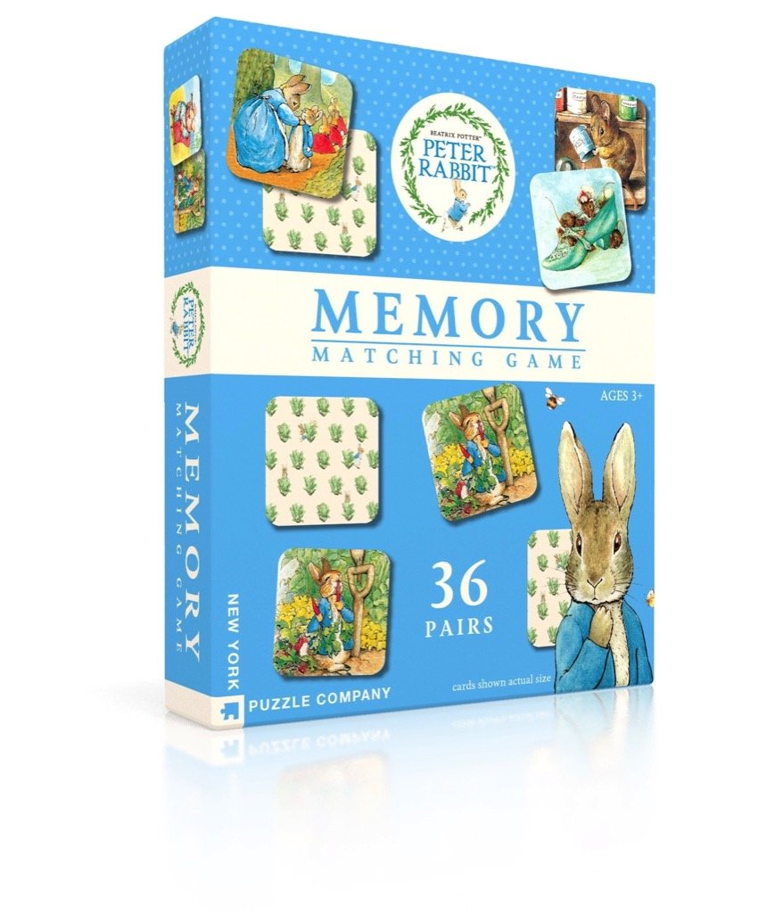 New York Puzzle Company - Peter Rabbit Memory Game