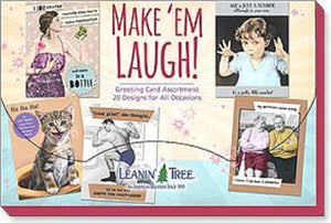 Leanin Tree Make Em Laugh Greeting Cards Assortment #90789