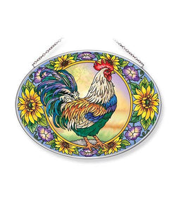 Country Charm Large Oval Sun Catcher