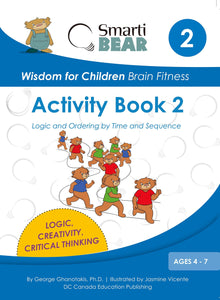 Smarti Bear Brain Fitness Activity Book 2
