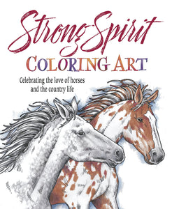 Strong Spirit Coloring Art