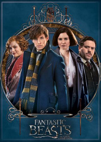 Harry Potter Fantastic Beasts Cast Magnet