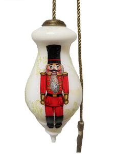 Nutcracker Hand Painted Christmas Ornament