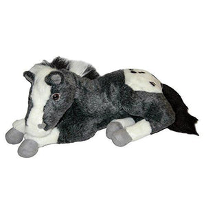 Carstens Plush Lying Horse Appaloosa 18""