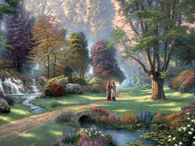 Load image into Gallery viewer, 300 Piece Oversized Thomas Kinkade Inspirations Puzzle- Walk of Faith