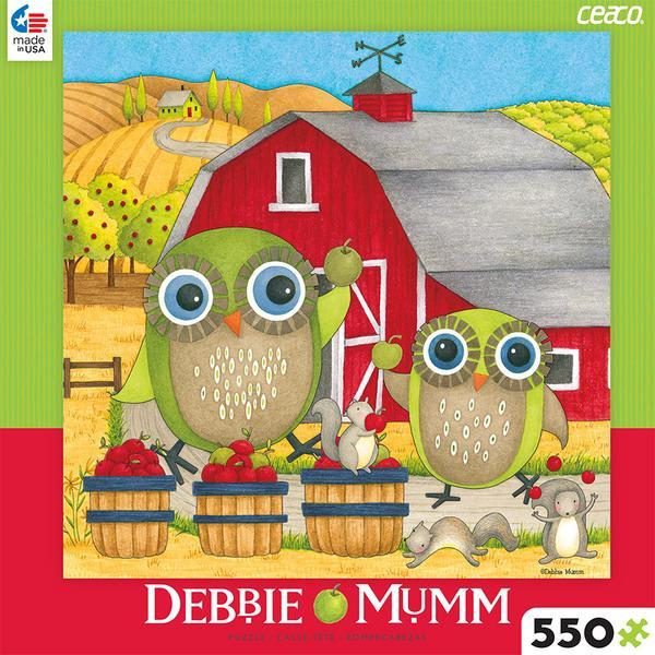550 Piece Debbie Mumm Puzzle-Apple Orchard