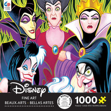 Load image into Gallery viewer, Disney Fine Art Lady Villans Puzzle - 1000 Pieces