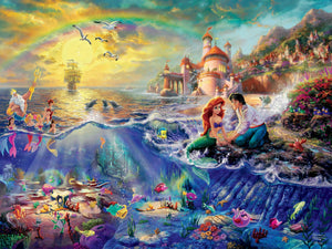 1500 piece Thomas Kinkade Disney Little Mermaid Puzzle