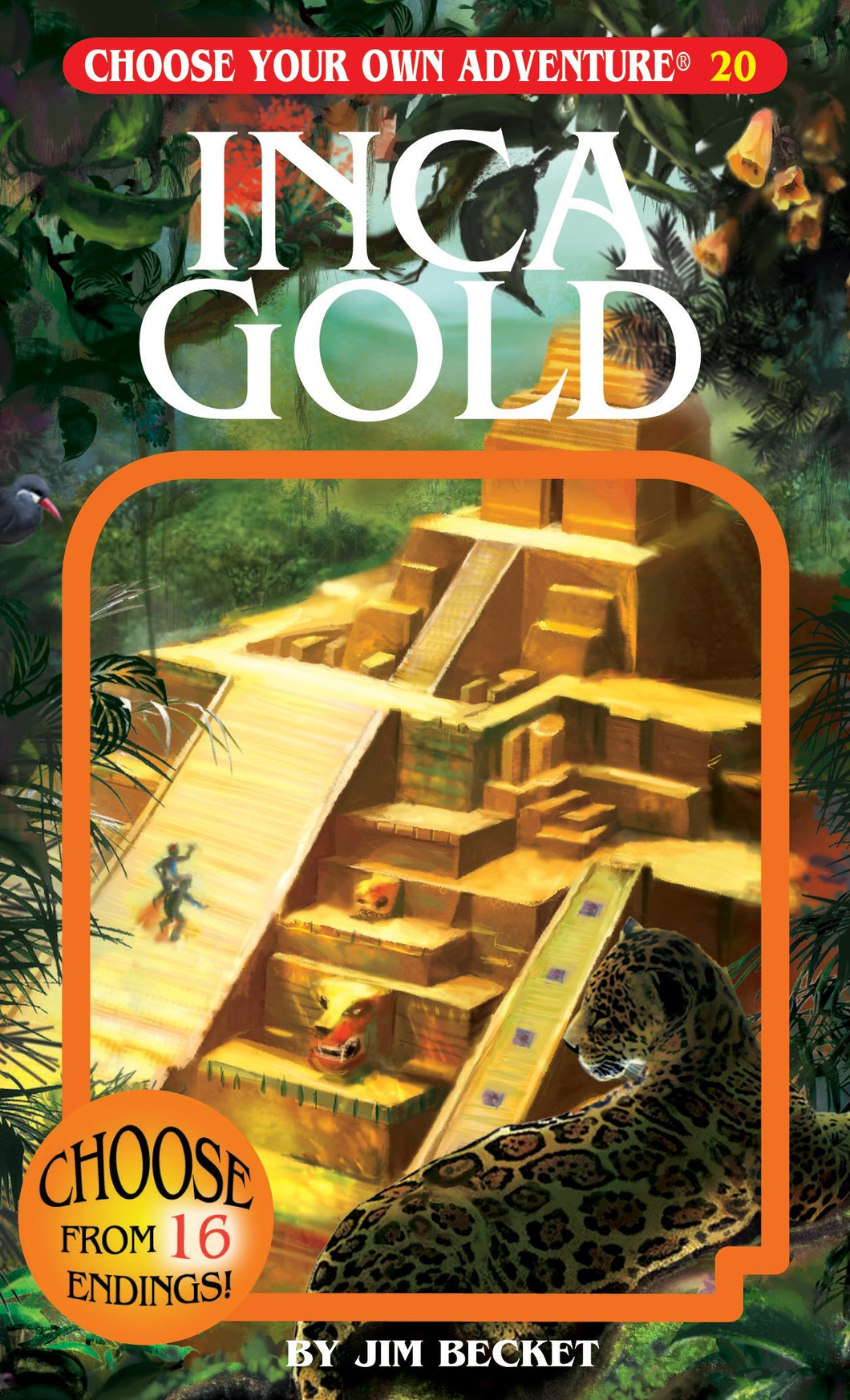 Choose Your Own Adventure Book-Inca Gold#20