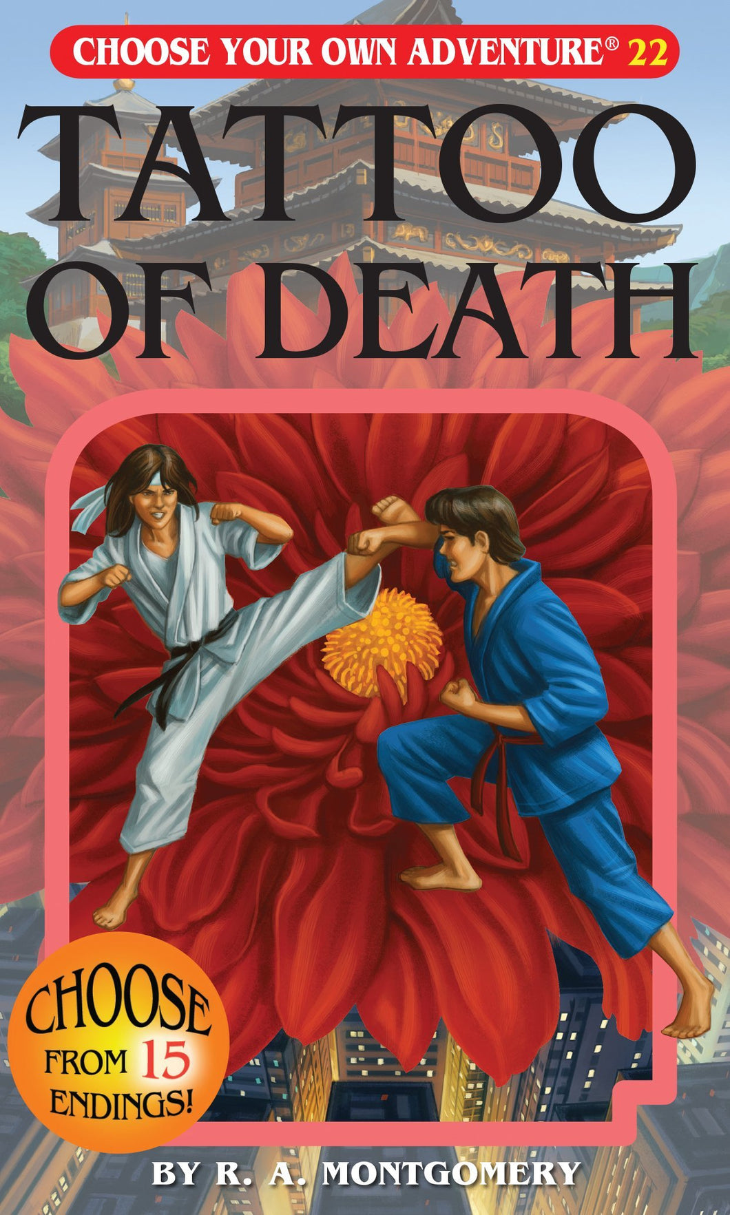 Choose Your Own Adventure Book-Tattoo of Death#22