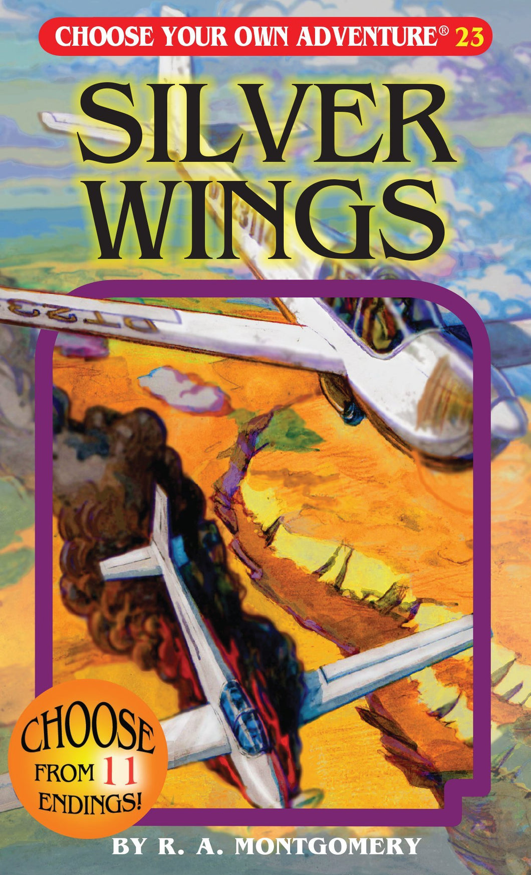 Choose Your Own Adventure Book-Silver Wings#23