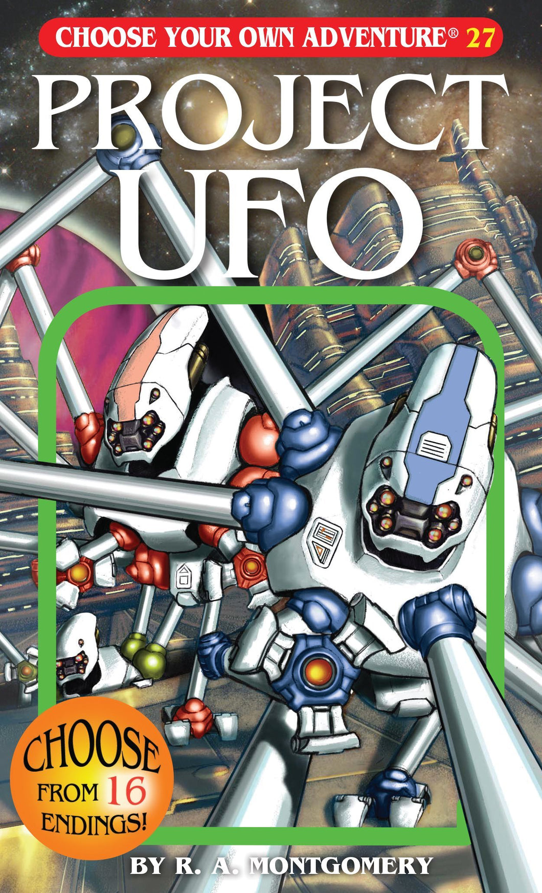 Choose Your Own Adventure Book-Project UFO #27