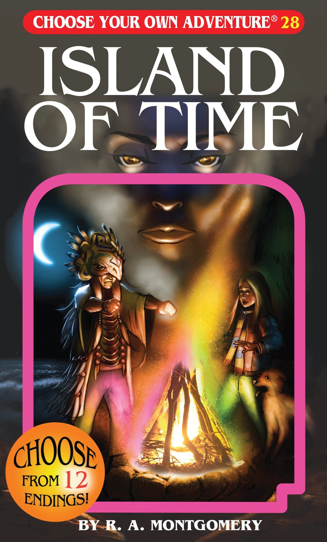 Choose Your Own Adventure Book-Island of Time #28