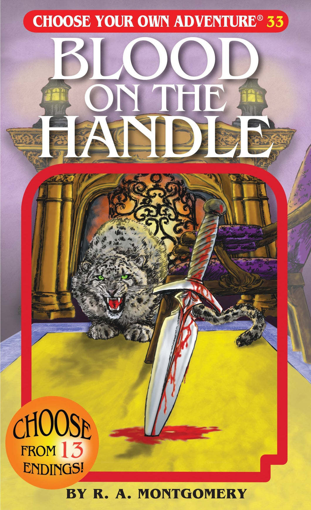 Choose Your Own Adventure Book-Blood on the Handle #33