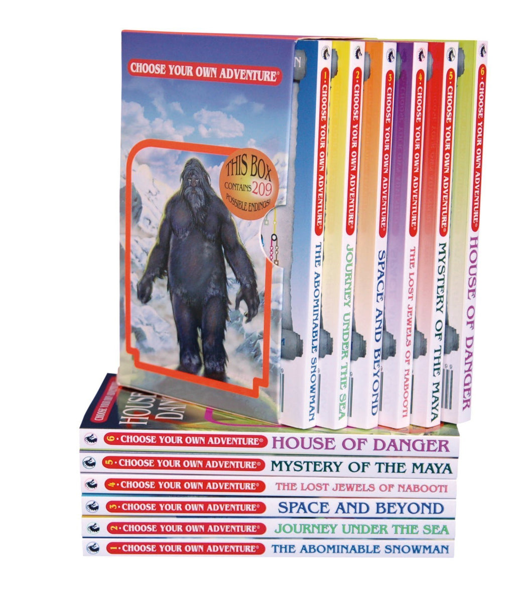 Choose Your Own Adventure Series Boxed Set #1 Books 1-6 - Freedom Day Sales