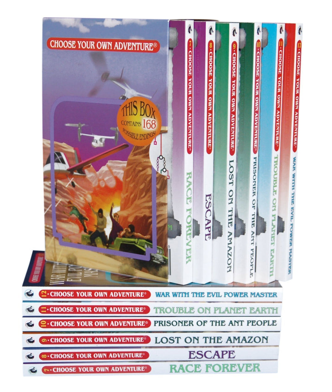 Choose Your Own Adventure Series Boxed Set #2 Books 7-12 - Freedom Day Sales