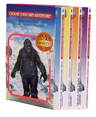 Choose Your Own Adventure Series 4 Boxed Set #1 Books 1-4 - Freedom Day Sales