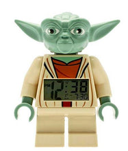 Load image into Gallery viewer, Lego Star Wars Yoda Alarm Clock