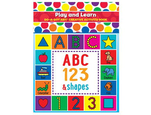 New Design Play & Learn Creativity and Activity Book ABC 123