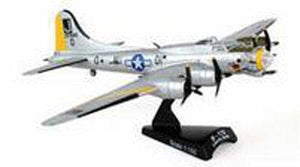 "Postage Stamp B-17G Flying Fortress ""Liberty Belle"" Die Cast Model Airplane"